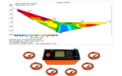 Servicio de tomografía eléctrica 2D y sondeos eléctricos verticales